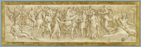 Entrée du cardinal Giovanni de' Medici à Florence