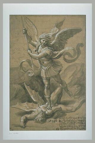 Saint Michel terrassant le démon