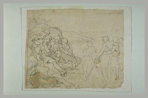 Joseph expliquant ses songes à ses frères