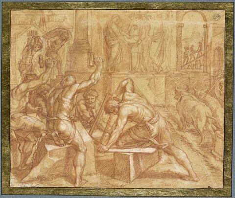 Edification du Temple de Jérusalem