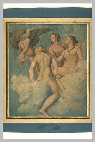 L'Amour montrant Psyché aux trois graces