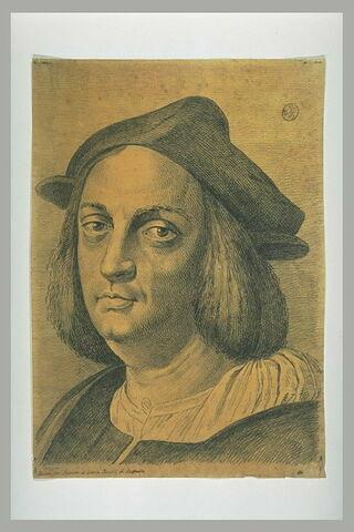 Portrait d'Agostino Beazzano, de trois quarts vers la gauche