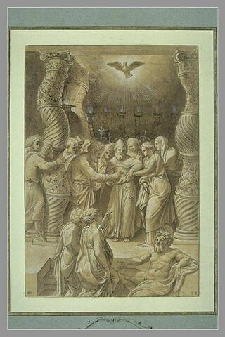 Le Mariage de la Vierge