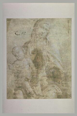 La Vierge assise avec l'Enfant Jésus