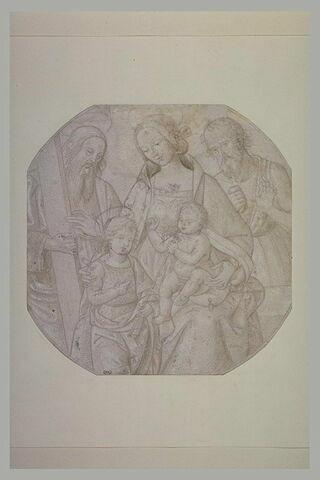 Sainte Famille avec saint Jean-Baptiste et saint Jérôme