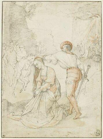 La Décollation de sainte Catherine d'Alexandrie