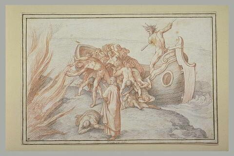 Une cargaison de damnés débarqués dans les flammes de l'Enfer