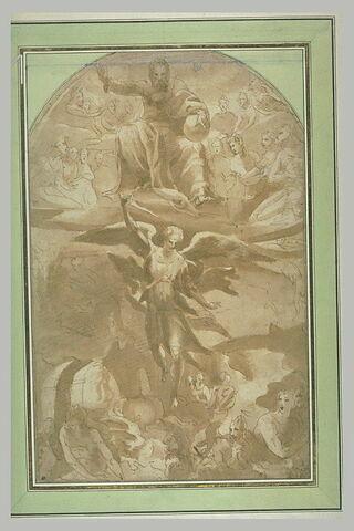 Saint Michel archange chassant les anges rebelles