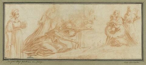 Adoration de la Vierge et de l'Enfant