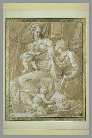 Vierge à l'Enfant, sainte Anne et saint Jean-Baptiste