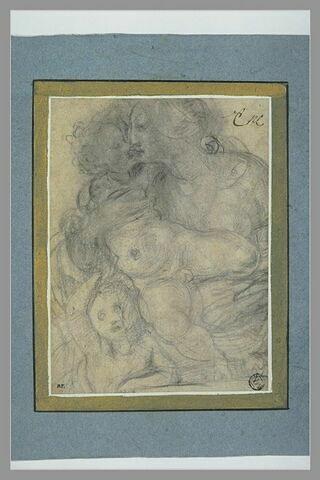 La Vierge à l'Enfant et le petit saint Jean