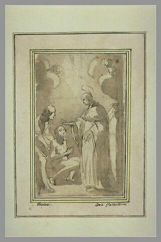 Saint Dominique rendant la vue à un aveugle