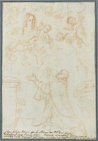 La Vierge et l'Enfant apparaissant à saint Philippe de Néri
