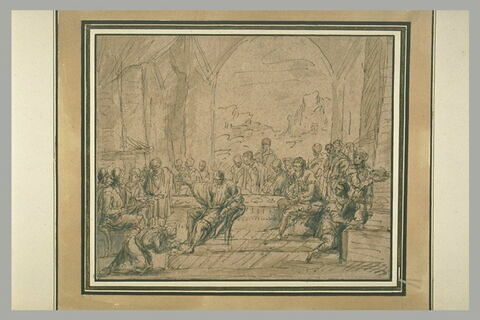 Le repas chez Simon le Pharisien et l'Onction des pieds du Christ
