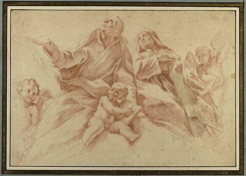 Apothéose de saint Benoit et de sainte Scholastique