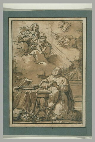 Apparition de la Vierge et de l'Enfant à saint Philippe Néri