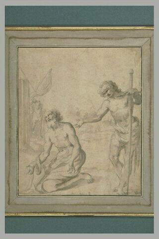 Martyre d'un saint : saint Christophe (?)