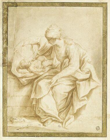 La Vierge jouant avec l'Enfant