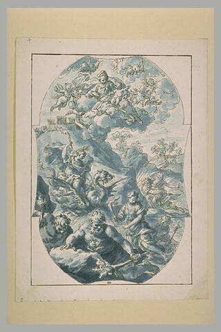 Enlèvement de Proserpine, Apparition de la Vierge à l'Enfant,...