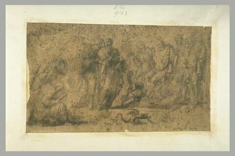 Moïse devant Pharaon