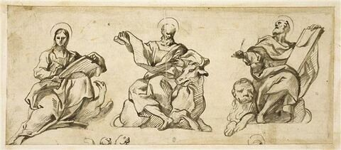 Saint Jean, saint Luc et saint Marc