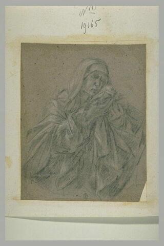 Sainte Femme pleurant