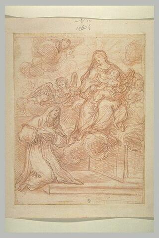 Apparition de la Vierge à l'Enfant à une religieuse