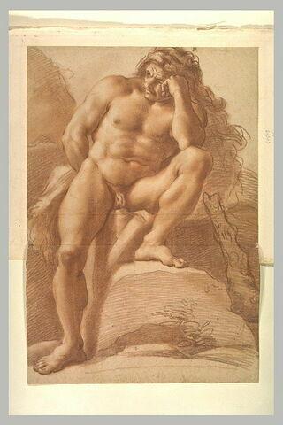 Hercule assis