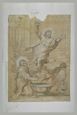 Apparition du Christ à saint Jean de Dieu