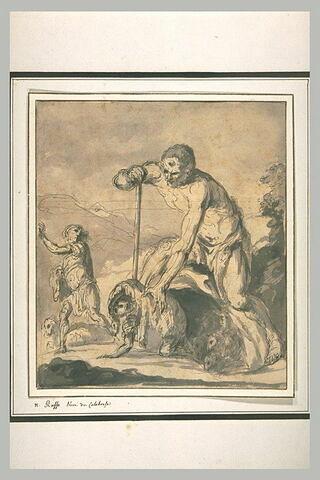 Le cyclope Polyphème abusé par Ulysse