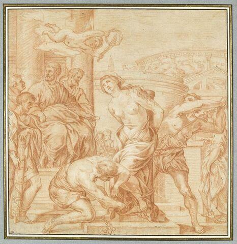 Martyre de sainte Bibiane