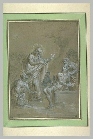 Jésus-Christ ressuscitant Lazare