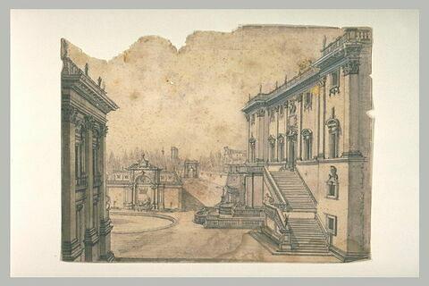 Caprice architectural : la place du Capitole