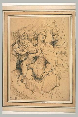 Sainte Famille et sainte Anne