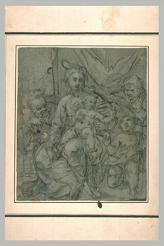 Sainte Famille avec le petit saint Jean et sainte Anne