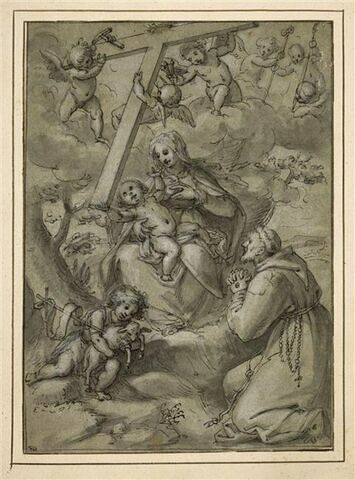 Vierge à l'Enfant avec saint Jean-Baptiste et saint François d'Assise