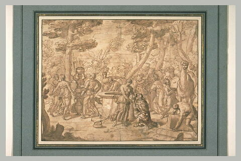 Rencontre de Rebecca et Eliézer au puits