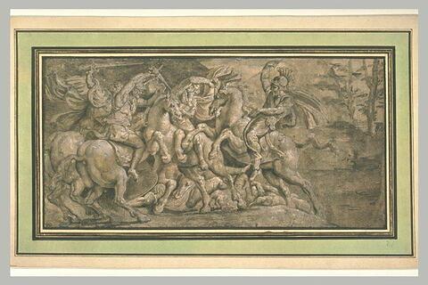 Combat de cavaliers Romains