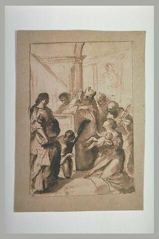 Jésus présenté au Temple par la Vierge