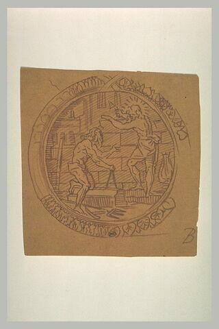 Apollon et Neptune élevant les murs de Thèbes