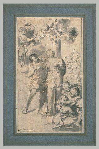 Martyre de sainte Apollonie d'Alexandrie