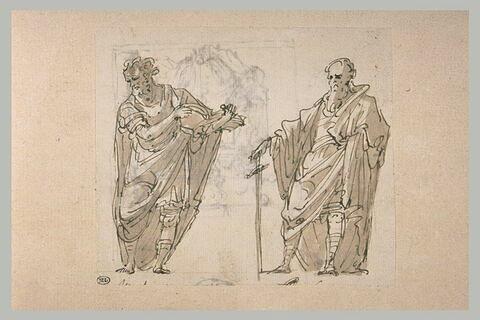 Saint Paul et un évangéliste