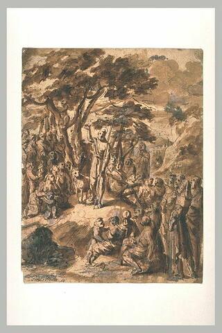 Prédication de saint Jean-Baptiste dans le désert