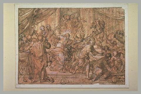 Jésus-Christ chassant les marchands du Temple