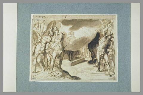Scène de l'histoire romaine
