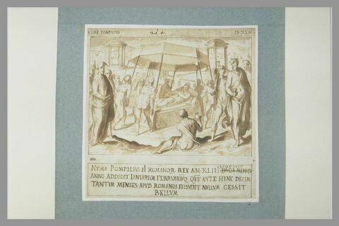 Mort de Numa Pompilius