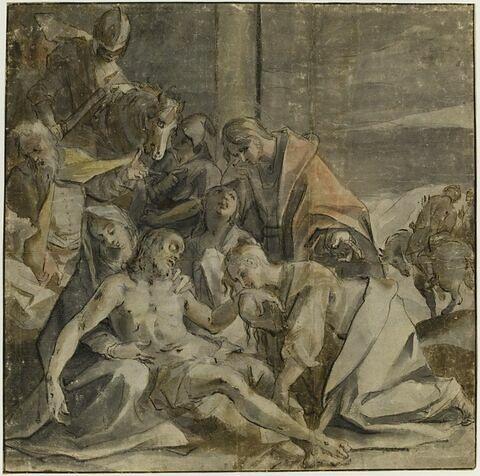Déposition du Christ et déploration du Christ