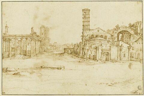 Temples romains sur le forum de Rome