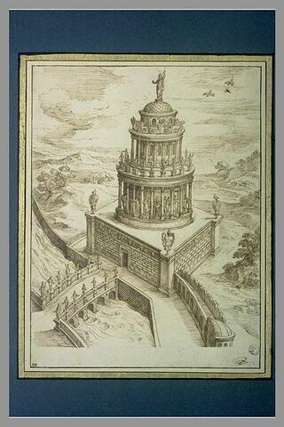 Vue du Mausolée d'Hadrien