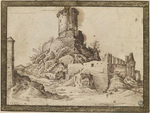 Tombeau de Scipion, sur la Via Appia, à Rome